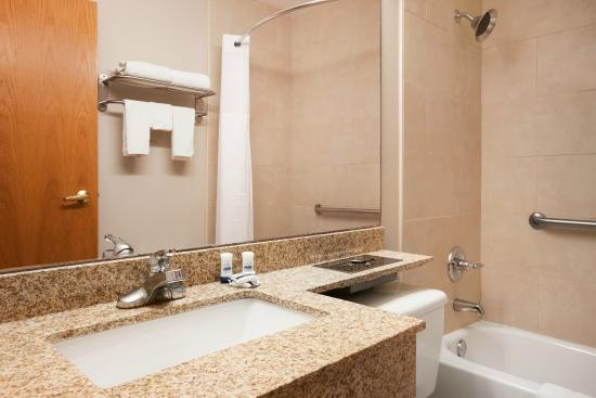 Microtel Inn by Wyndham Albany Airport: Bathroom