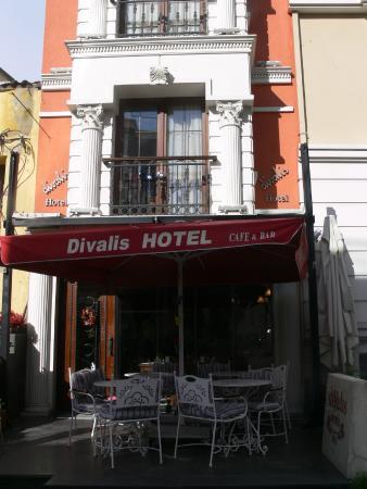 Divalis Hotel: Facciata