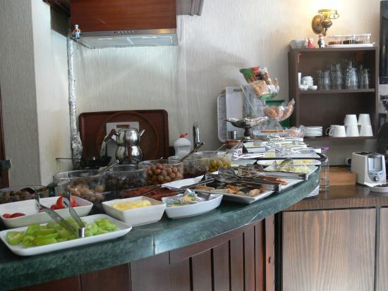 Divalis Hotel: Buffet colazione