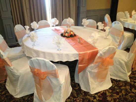 Ramada Hazleton : Banquet Area