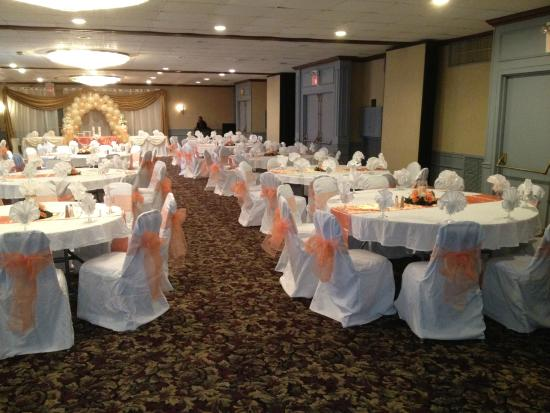 Ramada Hazleton: Banquet Area