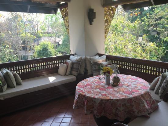 Lana Thai Villa: Private Terrace / in room dinning