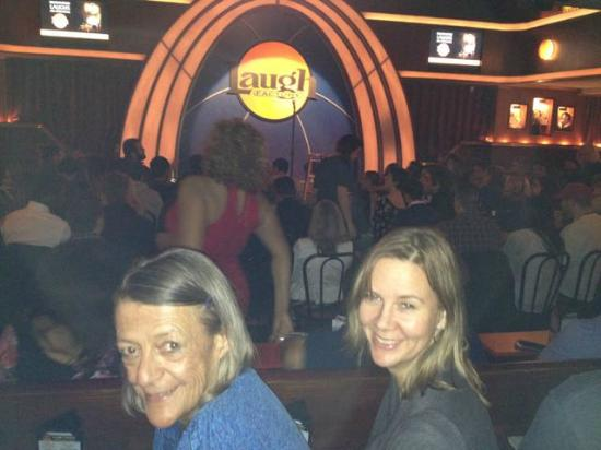 Laugh Factory: Best Seats are on the front row of the elevated section