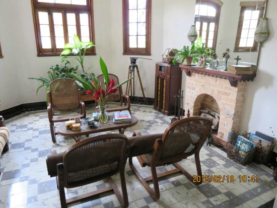 La Rosa de Ortega: The hotel sitting room