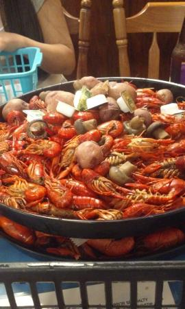 Fisherman's Cove Seafood: 10 pounds of crawfish!  I accidentally forgot to put this in my review... :-)