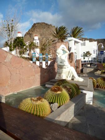 Puerto de las Nieves, near the seafront