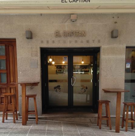 El Capitán - Restaurante: Frontaria do El Capitan