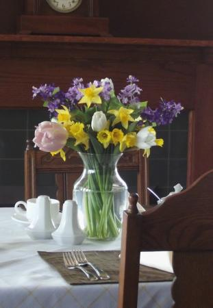Beacon Inn at Sidney: Our sunny breakfast room