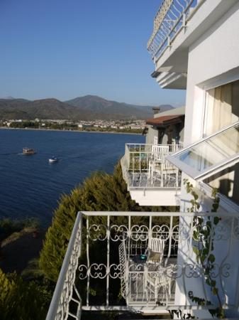 Ece Boutique Hotel : view to calis
