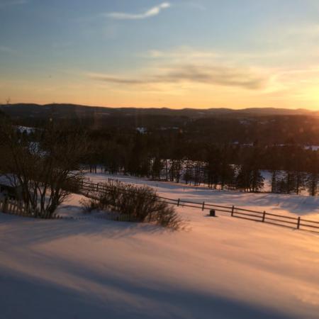 Lyndonville, VT: View from Inn