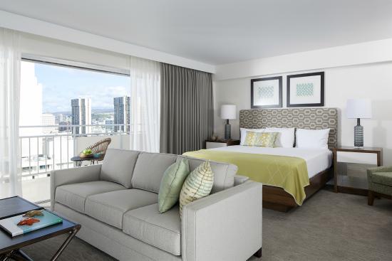 Ilikai Hotel & Luxury Suites: Luxury Ocean View Room