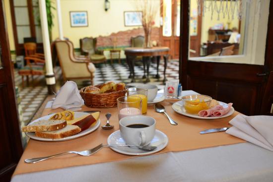 Hotel Posada del Virrey: Desayuno