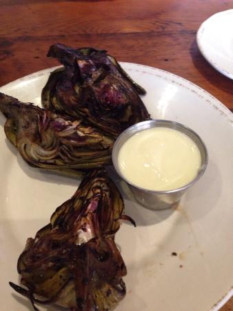 Samantha's Tap Room & Wood Grill: Artichokes. Get these. Trust me.