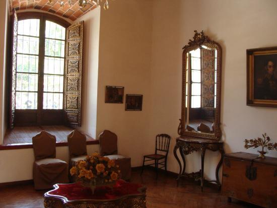 Hostal Patrimonio - Sucre: zona de recepcion