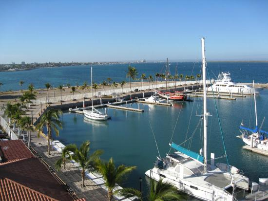 Hotel Marina: A room with a view.
