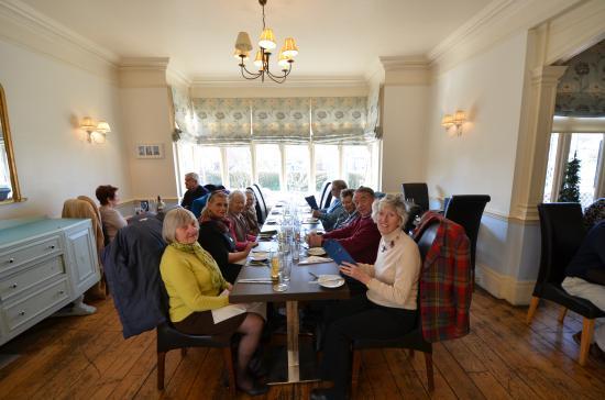 Blyth Hotel: Friends lunch