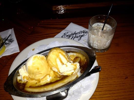 Euphemia Haye Restaurant : Banana yumminess!!!