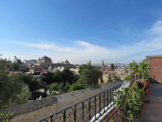 Hostal El Remanso: vista dal terrazzo