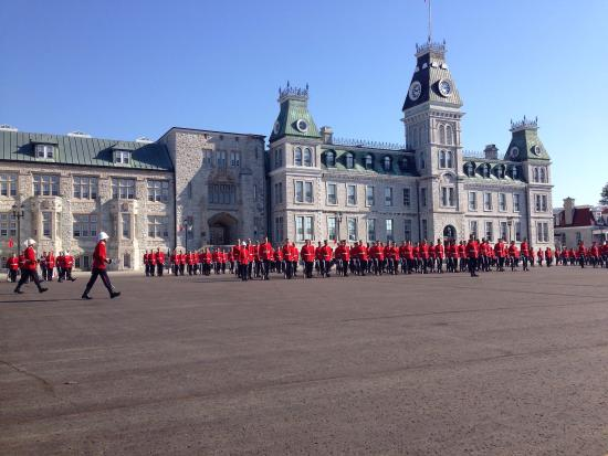 Royal Military College Museum : Historical backdrop and a continuing legacy of officer cadets at Royal Military College.