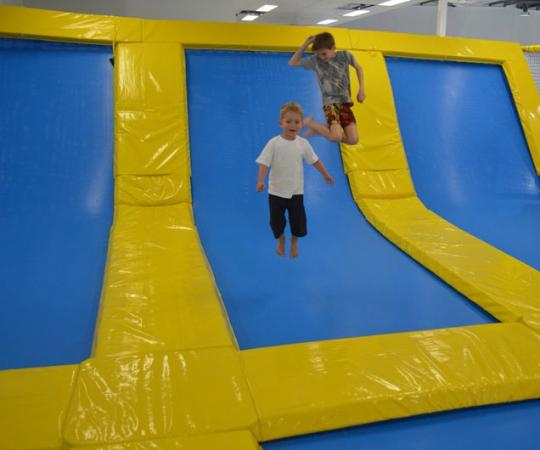 Trampoline Springs Sunshine Coast: Picture Of The Big Boing Indoor