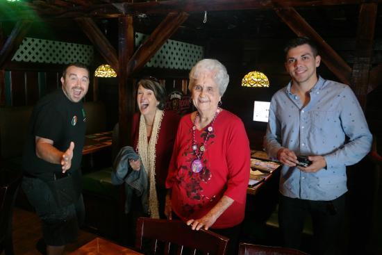 O'Keefe's Tavern & Restaurant: 'Gram's' 91st birthday lunch with Josh