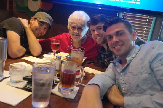 O'Keefe's Tavern & Restaurant: 'Gram's' 91st birthday lunch with grandsons