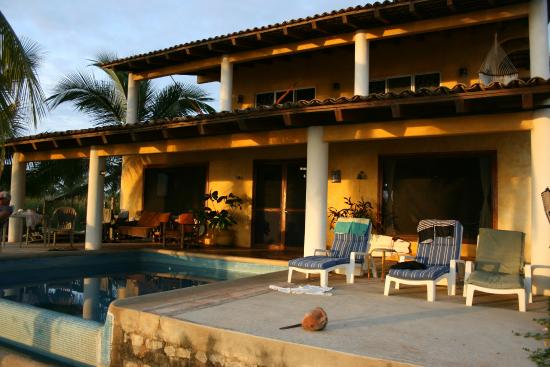 La Salada, Mexico: View of the house from beach