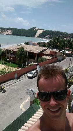 Hotel Bello Mare Comfort : Vista para o morro do careca.