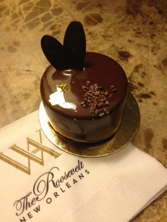 The Roosevelt New Orleans, A Waldorf Astoria Hotel: An amazing dessert from Teddy's