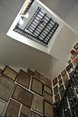 Felisa Rincon de Gautier Museum: stairwell