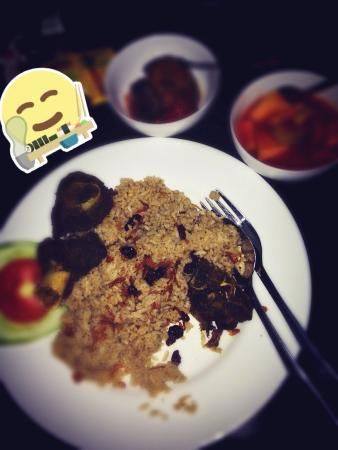Sriwijaya Hotel: Nasi kebuli