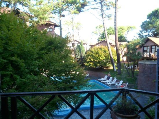 Carilo, Argentina: Vista desde el Spa