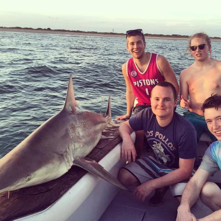 Shark Fishing Cocoa Beach Is Fired Up Again