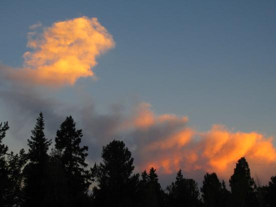 Divide, CO: Great evening sky