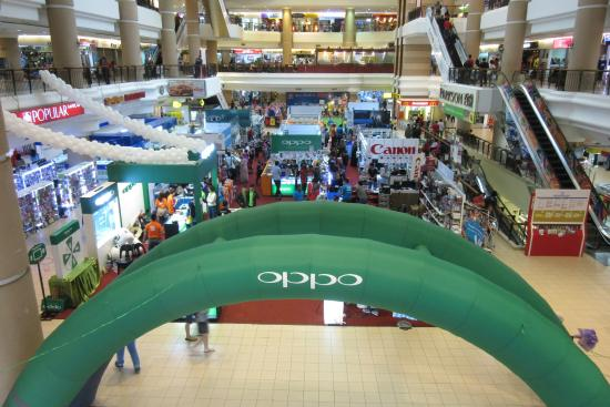 Kuantan, Malaysia: There's a computer and gadget fair going on