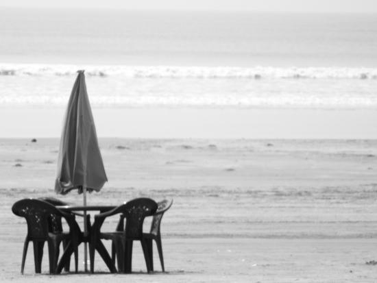 Eco Villa Resort: Beach view