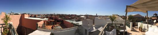 Riad Le J: view from rooftop