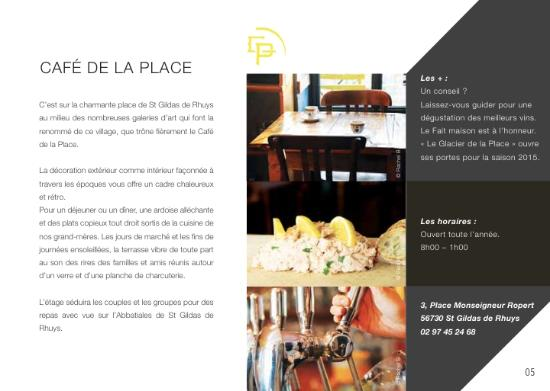 Cafe de la place : picture