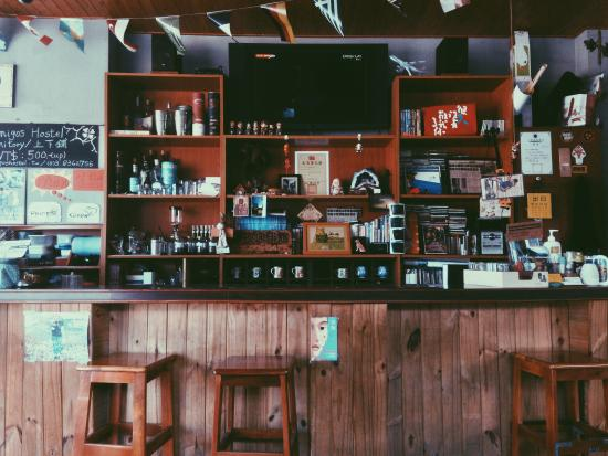 Amigos Hostel : counter