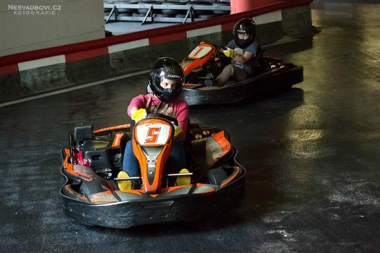 Kids Go Karts Picture Of Kartarena Pilsen Tripadvisor