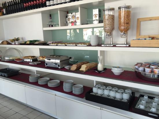 Hotel Porta Felice: Una parte del buffet della colazione