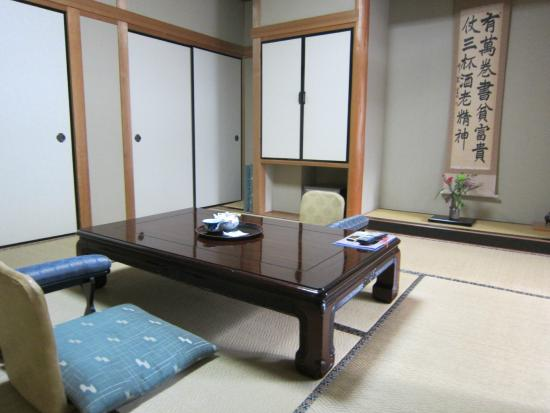 Ryokan Choyo : Our room