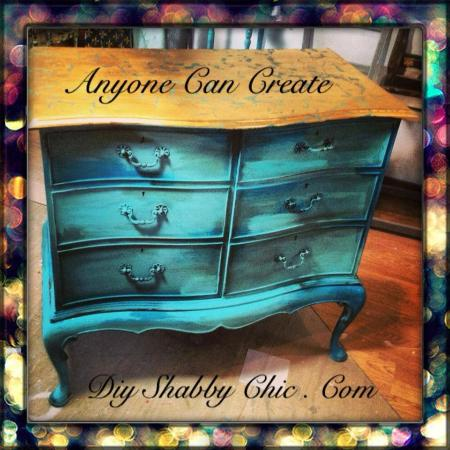 DIY Shabby Chic-Day Classes: Painted piece