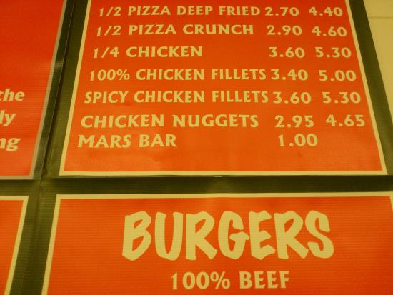 Happy Haggis: Deep fried mars bars!