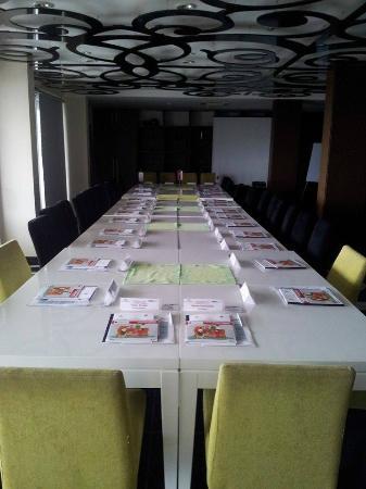 Hotel Aleksandar: Sala za rad