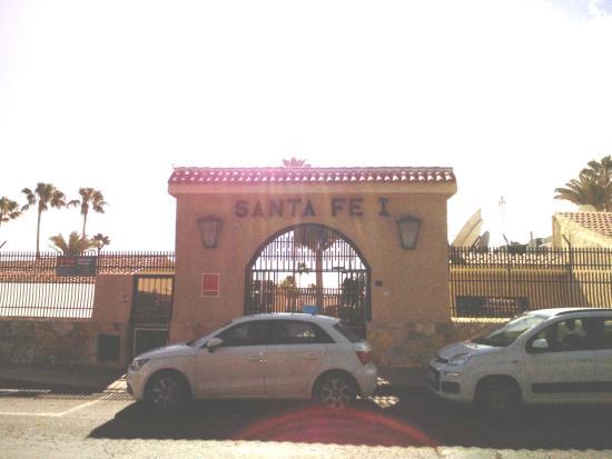 Santa Fe Bungalows : Eingang