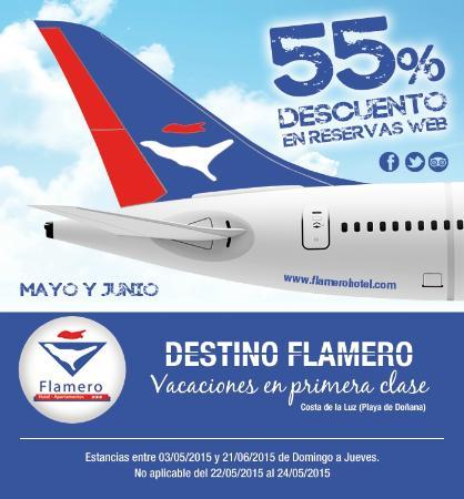 Hotel Flamero: Descuentos Primavera #destinoflamero