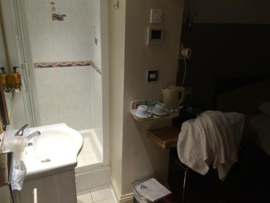 Comfort Inn Buckingham Palace Road: Worst bathroom ever.