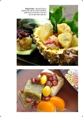 Keyaki: Tempura Fruits