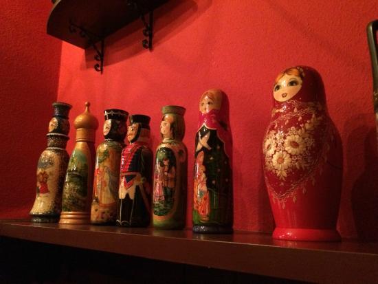 Kuurne, Belgien: Inevitable matriochkas in a Russian atmosphere